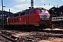 """Henschel 31844 - DB """"218 386-1"""" 30.05.1991 - Bingen-Bingerbrück, BahnbetriebswerkErnst Lauer"""