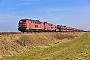 "Henschel 31844 - DB Fernverkehr ""218 386-1"" 12.03.2016 - (Niebüll) Emmelsbüll-Horsbüll, BÜ TraingelJens Vollertsen"