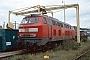 """Krauss-Maffei 19485 - DB Regio """"215 115-7"""" 21.10.2001 - Darmstadt, BahnbetriebswerkErnst Lauer"""