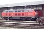 """Krauss-Maffei 19485 - DB Autozug """"215 911-9"""" 20.01.2005 - Westerland (Sylt), BahnhofArchiv inselbahn.de"""