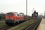 "Krauss-Maffei 19485 - DB AutoZug ""215 911-9"" 22.04.2006 - Westerland (Sylt)Nahne Johannsen"