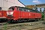 """Krauss-Maffei 19493 - DB Regio """"215 123-1"""" 05.08.2000 - Gießen, BahnbetriebswerkArchiv Werner Consten"""