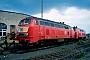 """Krauss-Maffei 19531 - DB Regio """"218 155-0"""" 01.10.2001 - Darmstadt, BetriebshofErnst Lauer"""