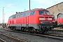 """Krauss-Maffei 19531 - DB Autozug """"218 155-0"""" 28.03.2009 - Darmstadt, BahnbetriebswerkErnst Lauer"""