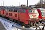"""Krauss-Maffei 19533 - DB Regio """"218 157-6"""" 05.03.2005 - Kiel, BahnbetriebswerkJens Vollertsen"""