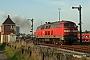 "Krauss-Maffei 19536 - DB AutoZug ""218 160-0"" 13.10.2005 - Niebüll, BahnhofTomke Scheel"