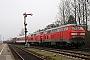 "Krauss-Maffei 19538 - DB AutoZug ""218 162-6"" 04.03.2007 - Niebüll, BahnhofTomke Scheel"