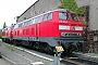 """Krauss-Maffei 19594 - DB Regio """"218 227-7"""" 18.05.2003 - Darmstadt, BahnbetriebswerkErnst Lauer"""