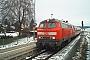 """Krauss-Maffei 19599 - DB Regio """"218 232-7"""" 30.11.2003 - Aichstetten, BahnhofWolfgang Wellige"""