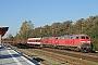 "Krauss-Maffei 19701 - DB Autozug ""218 340-8"" 01.10.2011 - Niebüll, BahnhofTomke Scheel"