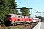 """Krauss-Maffei 19703 - DB Autozug """"218 342-4"""" 05.09.2013 - TorneschEdgar Albers"""
