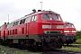 "Krauss-Maffei 19705 - DB Autozug ""218 344-0"" 23.07.2011 - Niebüll, BahnhofBernd Gennies"