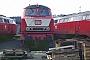 """Krupp 5057 - DB """"215 036-5"""" 23.01.1993 - Trier, BahnbetriebswerkErnst Lauer"""
