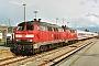 """Krupp 5138 - DB Regio """"218 117-0"""" 16.04.2008 - Westerland (Sylt), BahnhofClaus Tiedemann"""