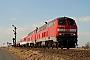 """Krupp 5195 - DB Autozug """"218 181-6"""" 14.03.2006 - Emmelsbüll-Horsbüll, Betriebsbahnhof LehnshalligTomke Scheel"""