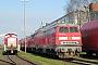 "Krupp 5197 - DB Autozug ""218 183-2"" 28.03.2010 - Bremen-Sebaldsbrück, FahrzeuginstandhaltungswerkPeter Wegner"