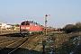 """Krupp 5198 - DB Autozug """"218 184-0"""" 13.03.2006 - Tinnum (Sylt)Nahne Johannsen"""