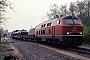 "Krupp 5198 - DB ""218 184-0"" 02.05.1991 - Kiel, Bahnhof Kiel Süd (VKP)Tomke Scheel"