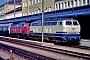 """Krupp 5227 - DB """"218 213-7"""" 05.09.1993 - Regensburg, HauptbahnhofErnst Lauer"""