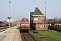 "Krupp 5300 - DB Autozug ""218 307-7"" 07.05.2006 - Westerland (Sylt), BahnhofNahne Johannsen"