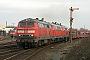 "Krupp 5300 - DB Autozug ""218 307-7"" 13.03.2009 - Sylt-Tinnum (Sylt)Nahne Johannsen"