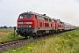 """Krupp 5300 - DB Fernverkehr """"218 307-7"""" 22.07.2016 - Emmelsbüll-Horsbüll, Betriebsbahnhof LehnshalligJens Vollertsen"""