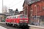 """Krupp 5300 - DB Autozug """"218 307-7"""" 03.11.2011 - TostedtAndreas Kriegisch"""