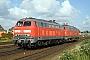 """Krupp 5304 - DB Autozug """"218 311-9"""" 08.07.2007 - Tinnum (Sylt)Nahne Johannsen"""