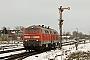 "Krupp 5306 - DB Autozug ""218 313-5"" 13.02.2010 - Sylt-Tinnum (Sylt)Nahne Johannsen"