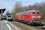 """Krupp 5308 - DB Fernverkehr """"218 315-0"""" 24.03.2019 - Niebüll, BahnhofTomke Scheel"""