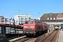 """Krupp 5312 - DB Fernverkehr """"218 319-2"""" 18.05.2014 - Westerland (Sylt), BahnhofPeter Wegner"""