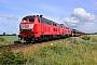 "Krupp 5312 - DB Fernverkehr ""218 319-2"" 20.06.2020 - Emmelsbüll-Horsbüll (Niebüll), BÜ TriangelJens Vollertsen"
