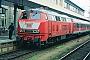 """Krupp 5314 - DB Regio """"218 321-8"""" 06.03.2002 - Mannheim, HauptbahnhofErnst Lauer"""
