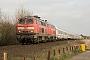 """Krupp 5315 - DB Autozug """"218 322-6"""" 01.04.2009 - Tinnum (Sylt)Nahne Johannsen"""