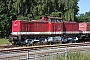 "LEW 12889 - Lokschuppen Zinnowitz ""201 380-3"" 12.07.2016 - Zinnowitz (Usedom), BahnhofCarsten Niehoff"
