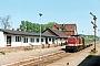"""LEW 14849 - DR """"201 792-9"""" __.__.1993 - Zinnowitz (Usedom), BahnhofClaus Tiedemann"""