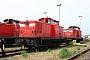 """LEW 16571 - Railion """"347 096-0"""" 23.07.2006 - Mukran (Rügen), BahnbetriebswerkPeter Wegner"""