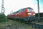 """MaK 2000051 - DB Regio """"215 046-4"""" 01.10.2001 - Gießen, BahnbetriebswerkErnst Lauer"""