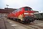 """MaK 2000061 - DB Regio """"215 056-3"""" 12.11.2000 - Fulda, BahnbetriebswerkErnst Lauer"""