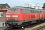 "MaK 2000067 - DB AutoZug ""215 908-5"" 24.04.2006 - Westerland (Sylt)Nahne Johannsen"