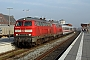 "MaK 2000111 - DB Autozug ""218 389-5 02.10.2011 - Niebüll, BahnhofTomke Scheel"
