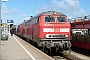 """MaK 2000111 - DB Fernverkehr """"218 389-5"""" 20.04.2016 - Westerland (Sylt), BahnhofClaus Tiedemann"""