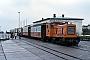 """Schöma 1989 - BKuD """"Münster"""" 30.04.1982 - Borkum, Bahnhof ReedeDieter Riehemann"""