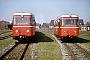 """Talbot 97519 - IBL """"VT 1"""" __.07.1989 - Langeoog, BahnhofWolf D. Groote"""