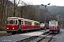 "Talbot 97519 - HSB ""187 011-2"" 12.03.2016 - Eisfelder Talmühle, BahnhofWerner Wölke"
