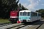 "VEB Bautzen 7/1963 - UBB ""772 201-0"" 08.08.2014 - Zinnowitz (Usedom), BahnhofAndreas Borrmann"