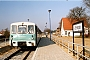 "VEB Bautzen 16/1963 - UBB ""771 023-9"" 02.04.1999 - Zempin (Usedom), BahnhofMartin Kursawe"