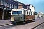 """Wismar 21145 - BKuD """"T 1"""" __.06.1970 - Borkum, BahnhofAlbert Bohm (Archiv Hubert Fingerle)"""