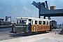 "Wismar 21145 - BKuD ""T 1"" __.06.1970 - Borkum, Bahnhof ReedeAlbert Bohm (Archiv Hubert Fingerle)"