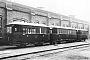 """Westwaggon 153641 - KAE """"33"""" __.__.1930 - Zum Hohle, Bahnbetriebswerkstatt der KAEArchiv K. Wolff (Archiv Wolf D. Groote)"""
